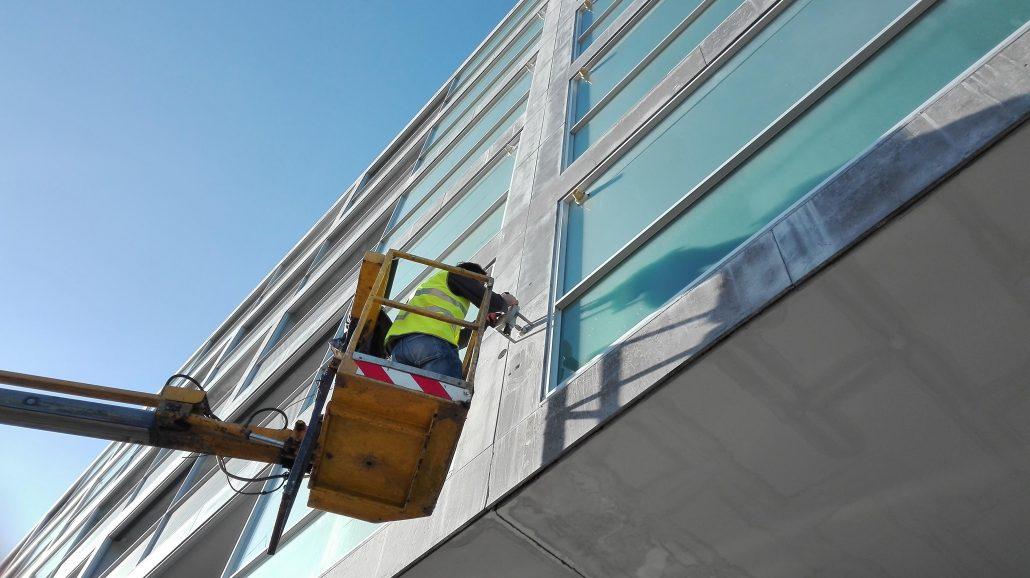 manutenção pulloff fachada pedra